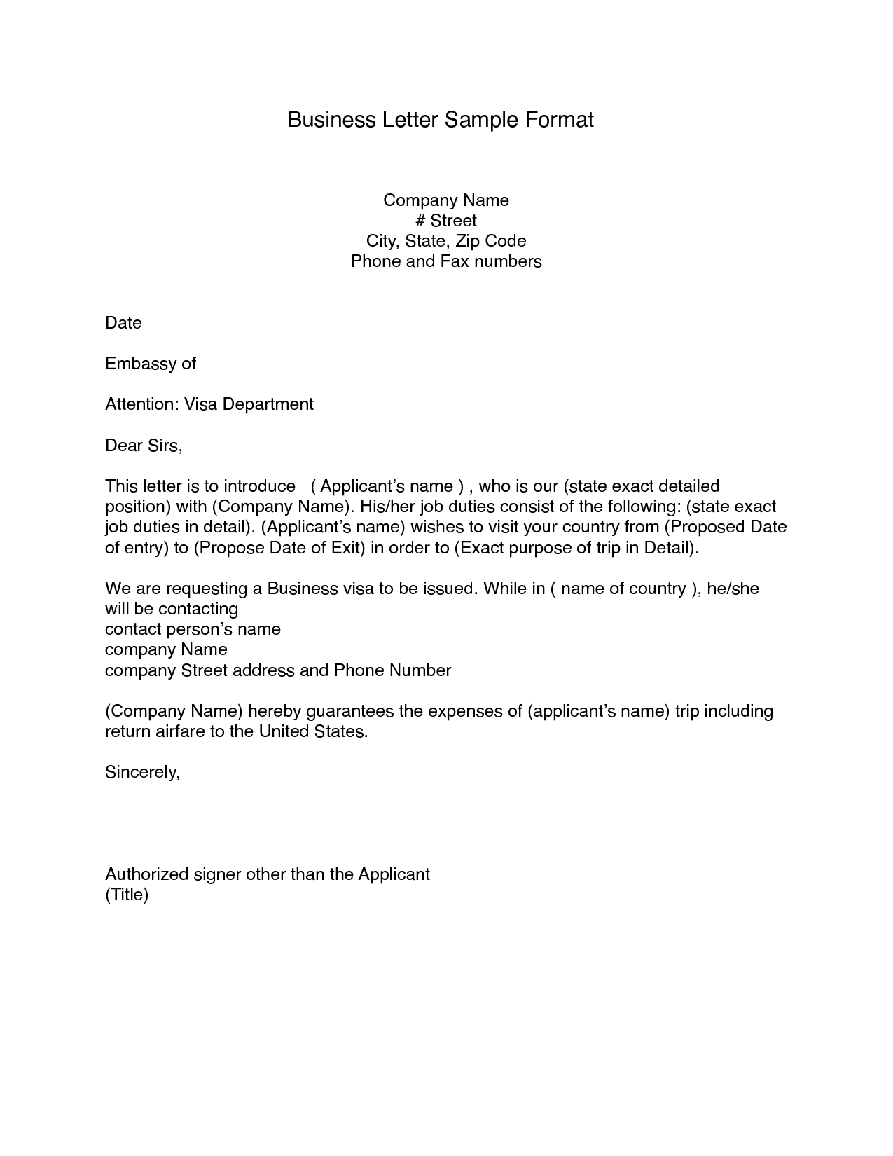 Free 8+ Printable Business Letter Format Block Style PDF Download