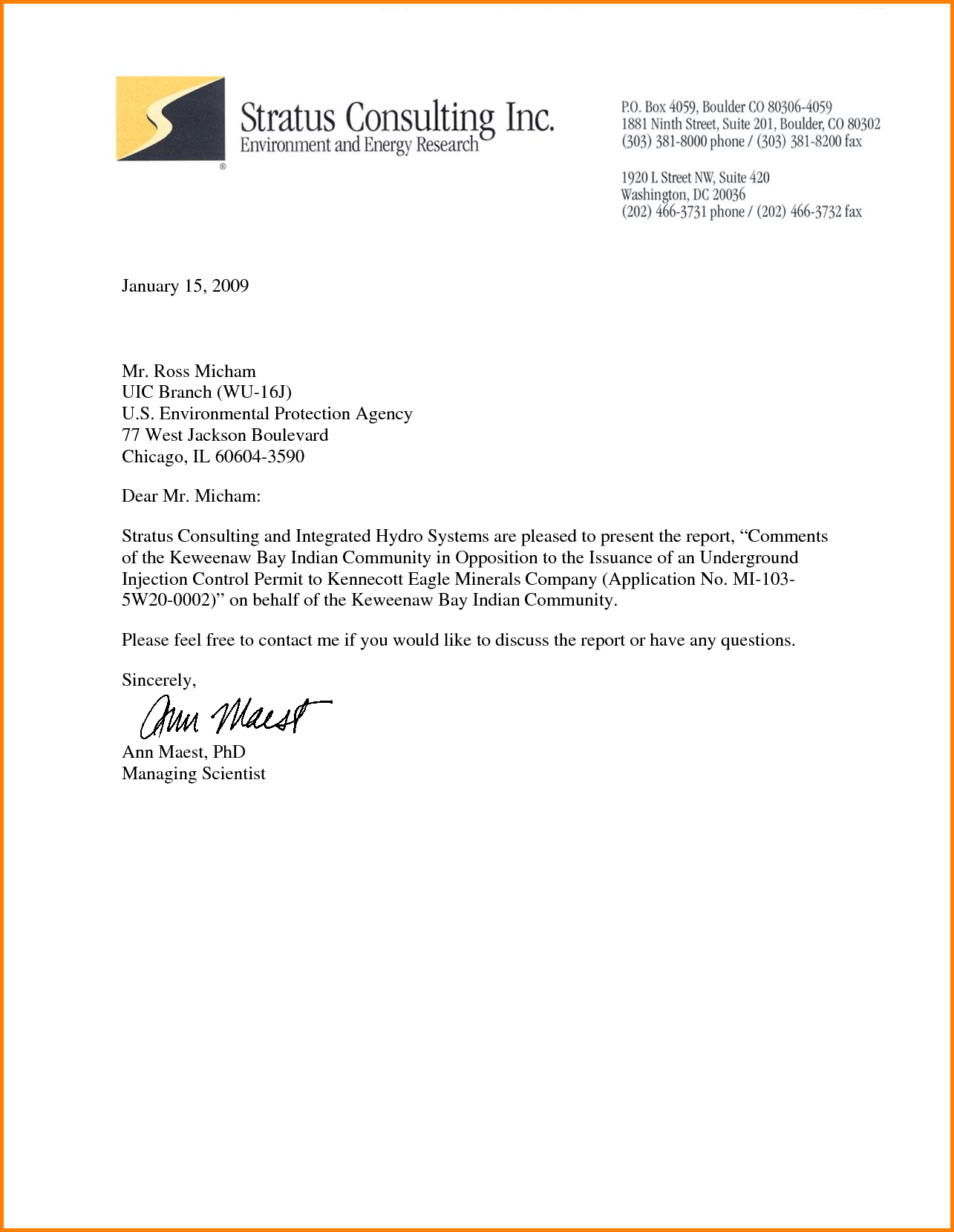 sample business letter on letterhead   Yelom.myphonecompany.co