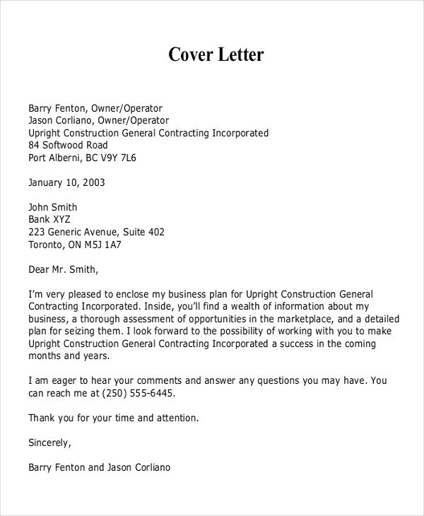 21+ Business Proposal Letter Examples   PDF, DOC