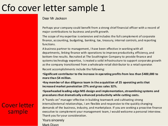 cfo cover letter example   Anta.expocoaching.co