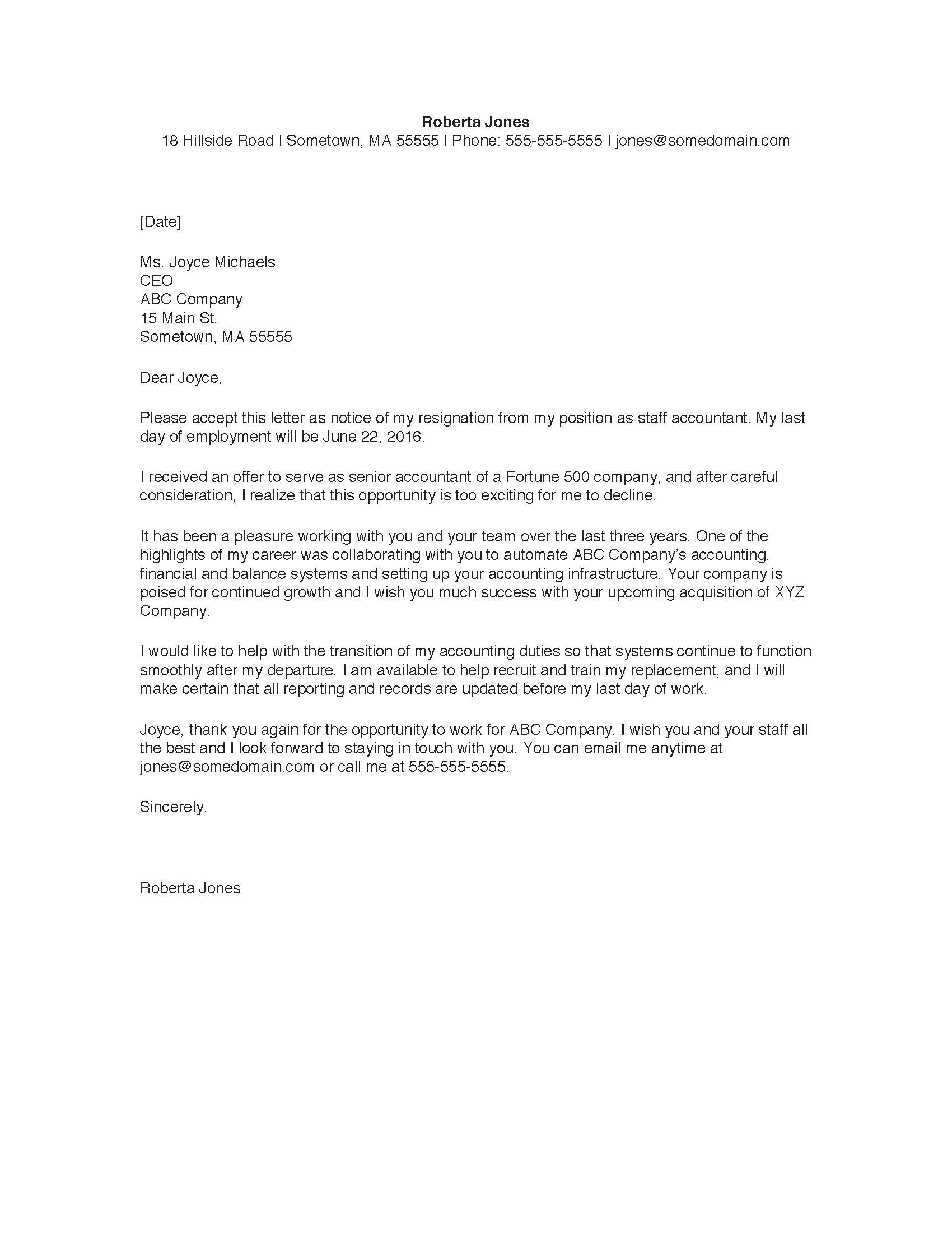 copy of a resignation letter   Yelom.myphonecompany.co
