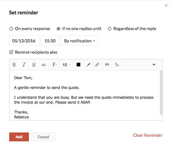 polite reminder email sample Forms and Templates   Fillable