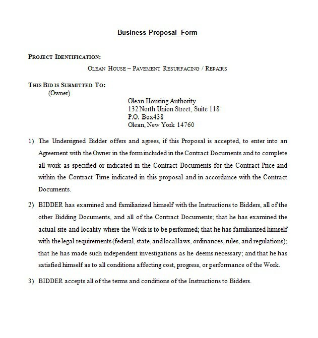 business proposal letter example   Yelom.myphonecompany.co
