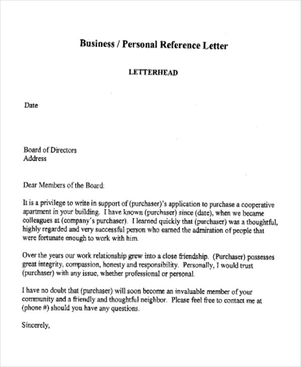 Business Recommendation Letter Example from appareldream.com