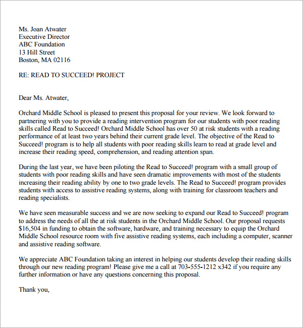proposal letter format pdf   Ukran.soochi.co