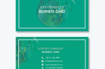 Business card templates psd templates 2