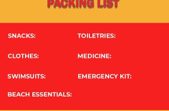 packing list in photoshop