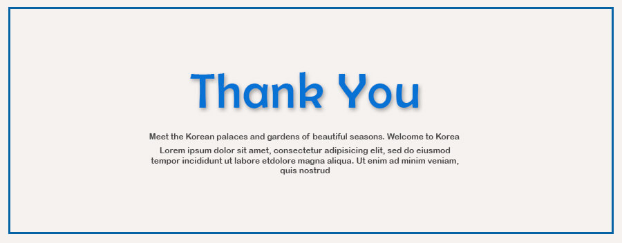 thank card example psd design