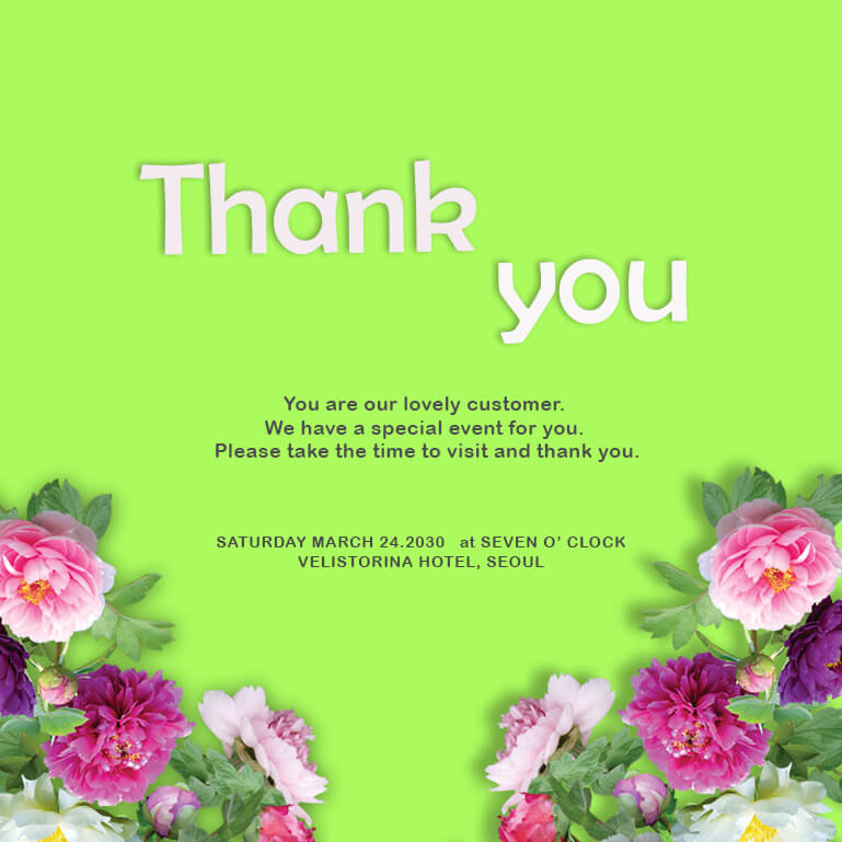 thank card templates psd