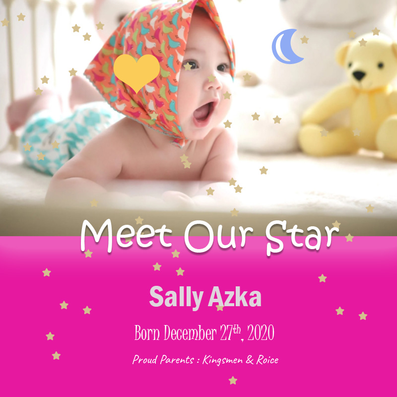 Baby Invitation customizable psd design templates