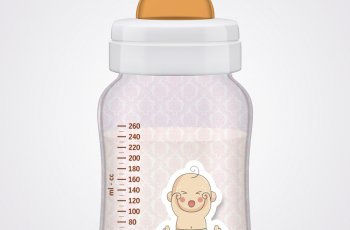 baby bottle template in photoshop free download