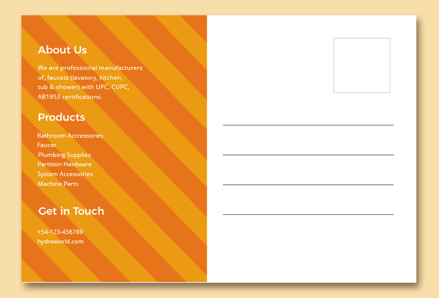 back of postcard template template free psd