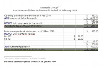 bank reconciliation template in word free download